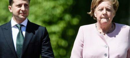 Стало известно, о чем договорились Зеленский и Меркель во время последнего телефонного разговора