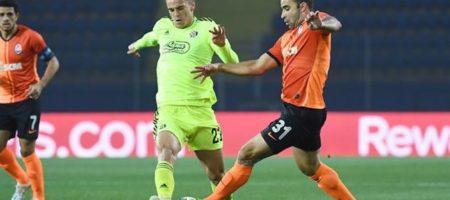 Лига Чемпионов: Шахтер вырвал ничью в матче с загребским Динамо