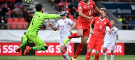 Евро 2020 Швейцария - Гибралтар.