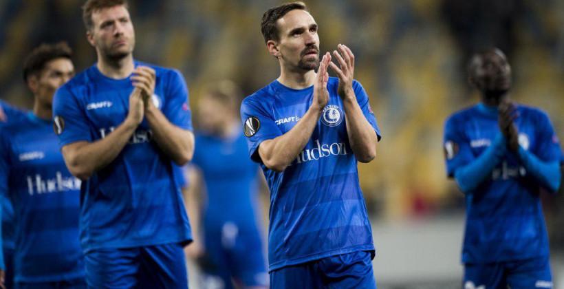 Бельгийский Гент вернутся домой после матча ЛЕ из-за авиакатастрофы вблизи аэропорта Львова