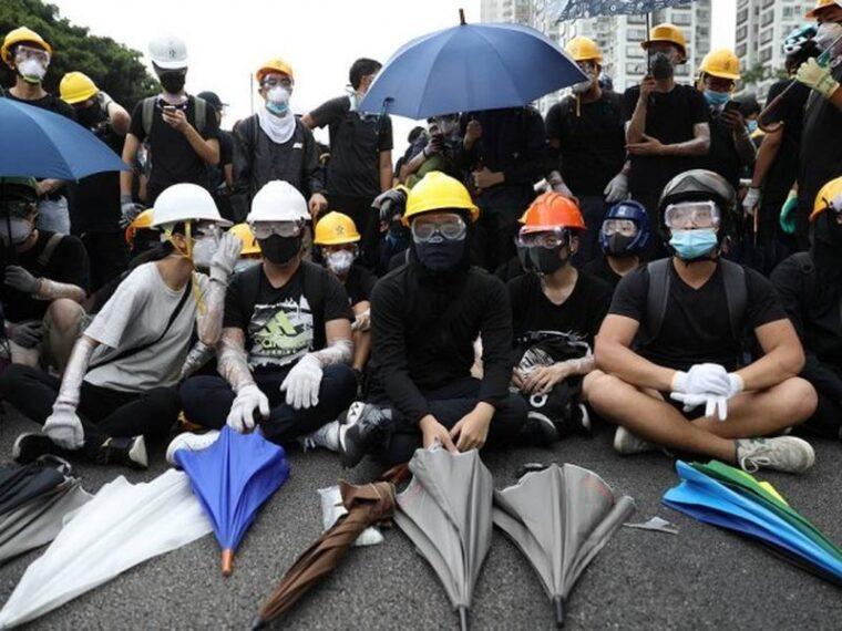 Новая волна протестов в Гонконге