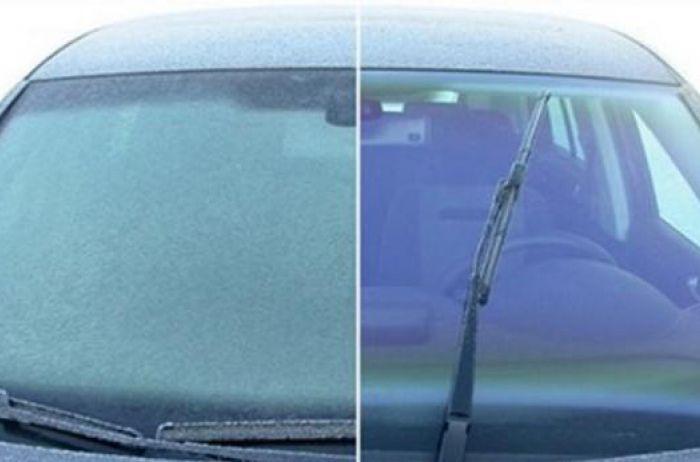 Как максимально быстро разморозить стекла автомобиля