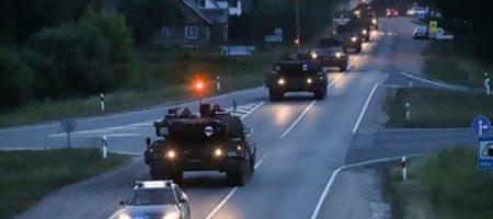 Танки НАТО у границ России: Путин в ярости. ФОТО