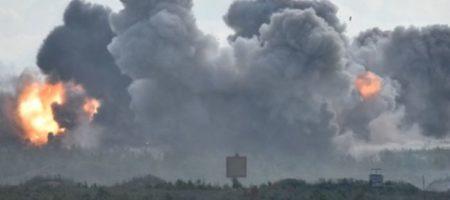 Страшный взрыв на Донбассе: оккупанты умудрились уничтожить собственный склад боеприпасов