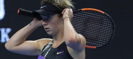 Свитолина не сумела выиграть финал финале Итогового турнира WTA