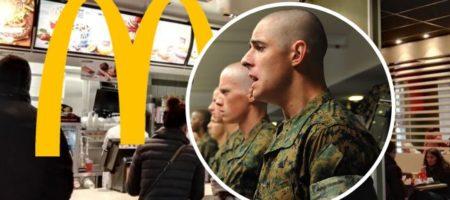 """Скандал в сети: украинца забрали в армию прямо из """"МакДональдса"""""""