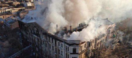 Пожар в одесском колледже: Гончарук обнародовал выводы правительственной комиссии
