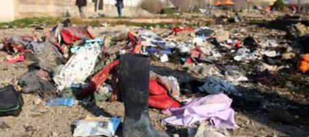 Соцсети: Иран зачистил бульдозерами место падения самолета МАУ