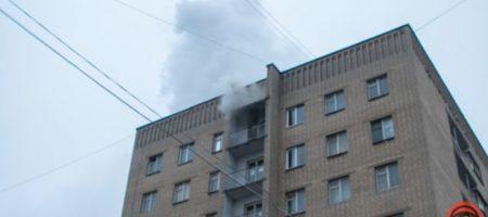 В Днепре вспыхнуло студенческое общежитие. ФОТО, ВИДЕО