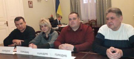Голодный бунт во Львове: главы профсоюзов шахт объявили голодовку ради подчиненных