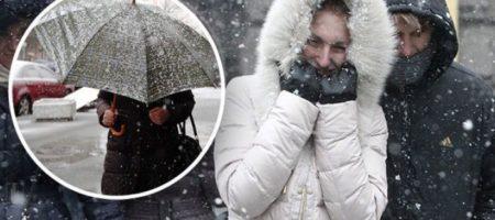 В Украину идут снежные ливни: какие области накроет первыми