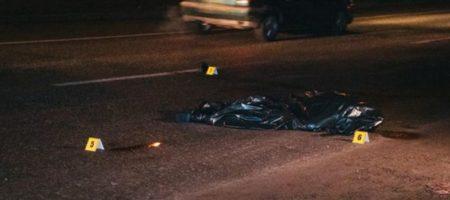 В Киеве «машина-призрак» насмерть сбила пешехода. ФОТО, ВИДЕО