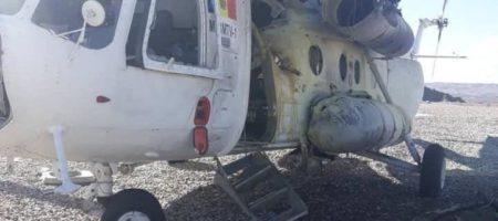 В Афганистане сбит вертолет с украинцами на борту