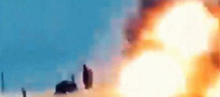 Российские военные понесли новые потери в Сирии. Видео удара