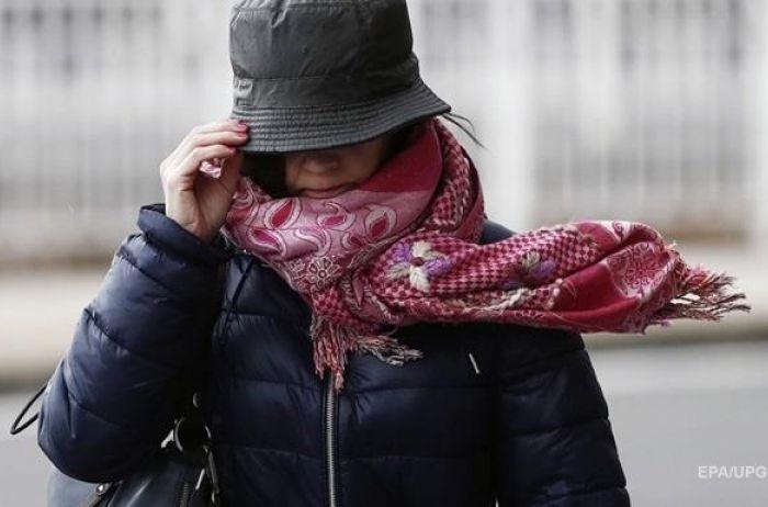 Украинцы опять получили штормовое предупреждение