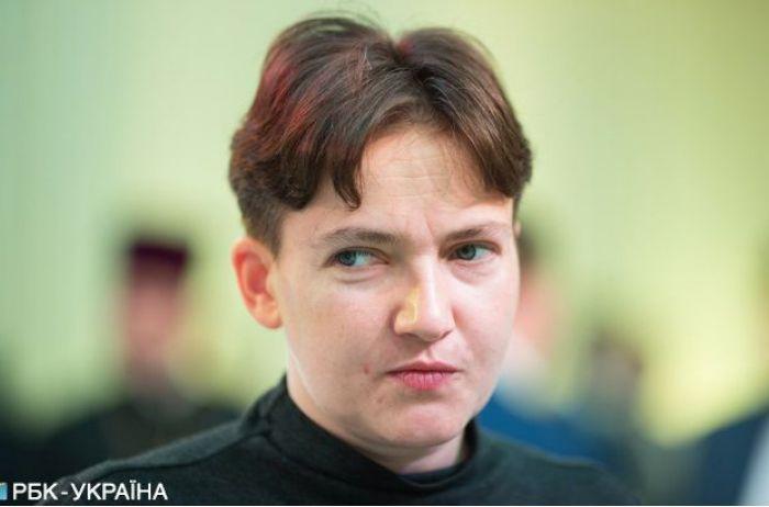 """Савченко надела красное платье и вновь """"отожгла"""". ВИДЕО"""