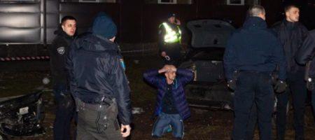Адское ДТП в Днепре: водитель на угнанном Audi снес трех пешеходов, удирая от полиции