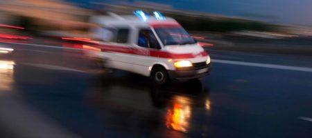 Столкновения под Винницей, идет штурм мэрии: «скорые» развозят раненых. ФОТО