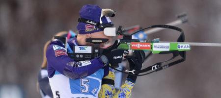 Сборная Украины выиграла бронзу в женской эстафете на чемпионате мира по биатлону