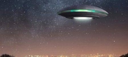 Американцы засняли посадку НЛО на Землю. ВИДЕО