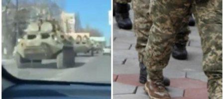 Военная техника на улицах Одессы: что происходит. ФОТО