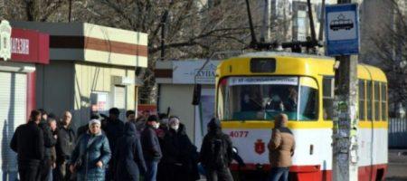 Бунт в Одессе из-за карантина: выбитые стекла и угрозы водителям. ФОТО