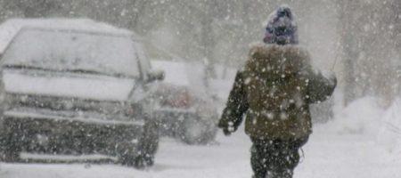 В Украину идут снега, метели, гололед и заморозки: ГосЧС предупреждает