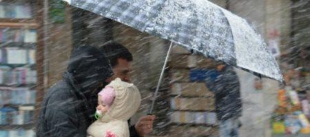 Заметет снегом: подробный прогноз погоды в Украине на воскресенье