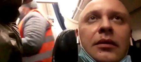 """В """"Борисполе"""" приземлился самолет из Италии, полный кашляющих египтян, которых отпустили после скрининга. Видео"""