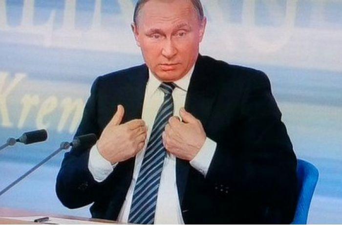 "Владимир Путин неожиданно ""подрос"". ФОТО"