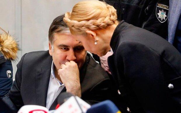 """Тимошенко резко отреагировала на """"вице-премьера"""" Саакашвили"""