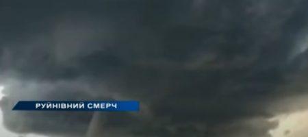 Стихия разбушевалась: торнадо в Украине разрушил 12 домов (ВИДЕО)