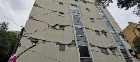 В Мексике произошло мощное землетрясение магнитудой 7,4