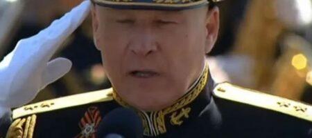 Предатель Елисеев пришел на путинский парад с украинскими наградами