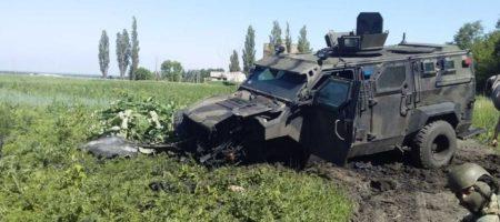 В Авдеевке подорвался автомобиль ВСУ, 10 военнослужащих ранены
