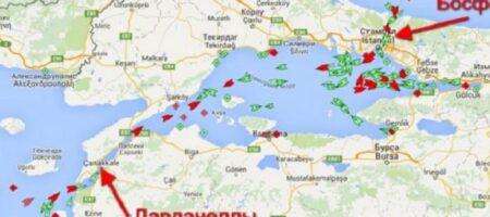 Турция перекрыла Дарданеллы: российский Черноморский флот заперли в Черном море