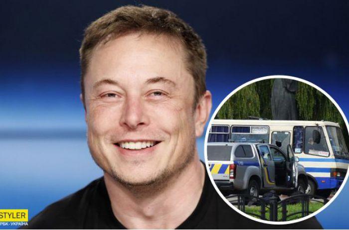 Илон Маск высказал свое мнение по поводу захвата заложников в Луцке