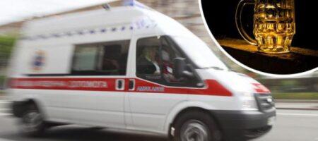 Мамаша пила с соседями: в Киеве двухлетняя девочка отравилась алкоголем