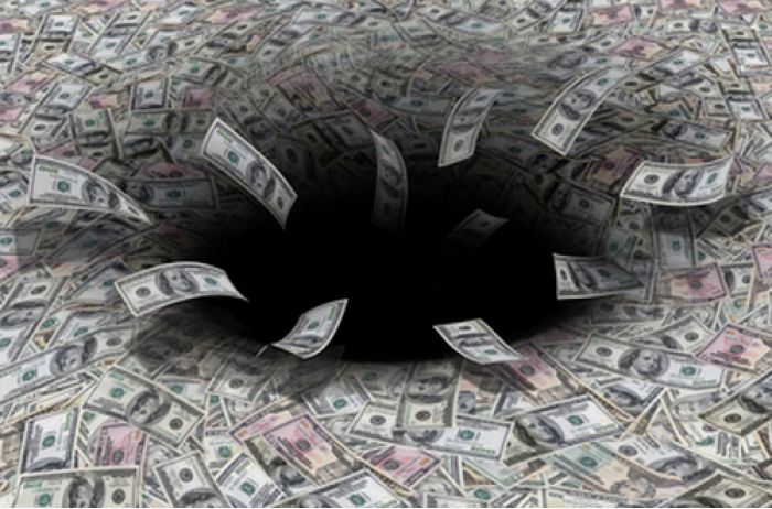 В бюджете Украины недосчитались почти 48 млрд