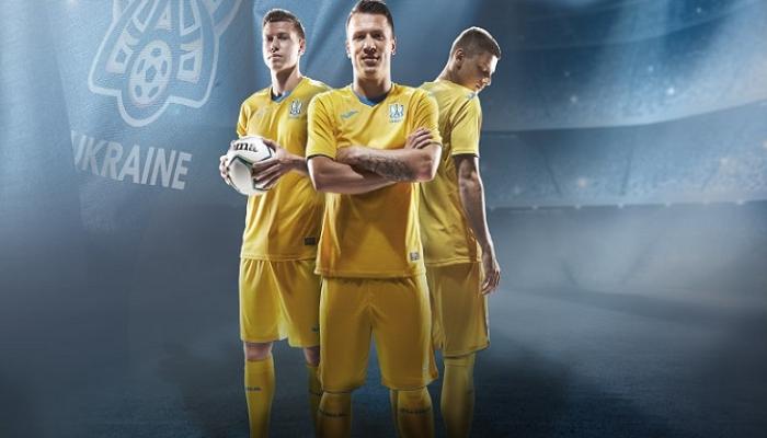 Сборная Украины представила новую форму от Joma