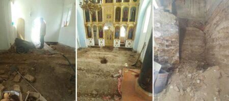 На Сумщине под полом церкви обнаружили жуткую находку