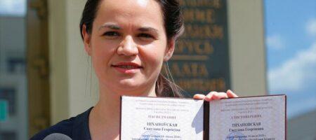 Тихановская считает, что за нее проголосовали до 70% избирателей