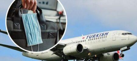 В Запорожье двух пассажиров самолета наказали за отсутствие масок (ВИДЕО)