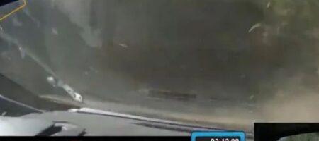 Что происходит, когда на скорости 200 км/ч лопается шина (ВИДЕО)