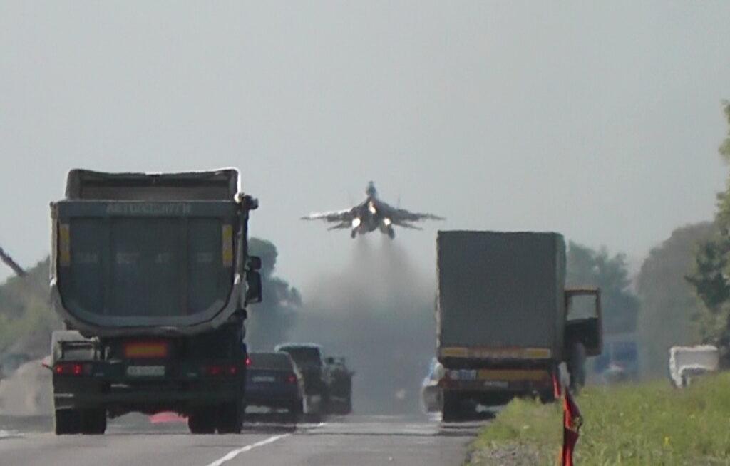Трасса Киев-Чоп станет временным аэродромом