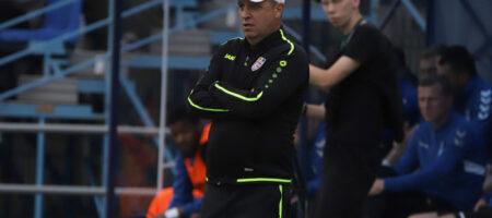 Вернидуб ушел с поста главного тренера солигорского Шахтера