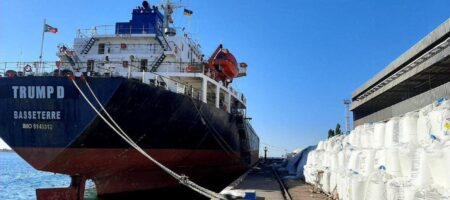 """Администрация морпорта """"Пивденный"""" сообщает о хранении в порту 9,6 тыс. тонн аммиачной селитры и заявляет о ее безопасности"""