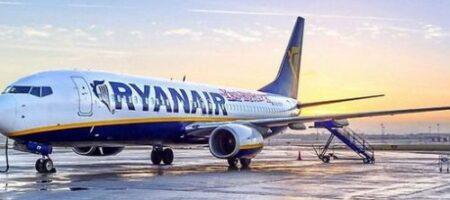 RyanAir отменил практически все рейсы в Украину
