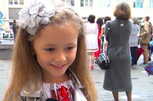 «Школа, институт, потом на работу, и умрем». 6-летняя украинка стала звездой сети (ВИДЕО)