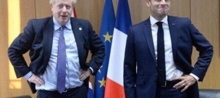 Джонсон и Макрон срочно требуют от Путина объяснений по Навальному